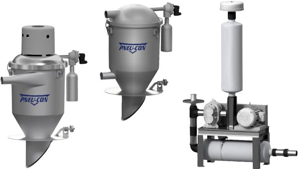 advantages to pneumatic conveying