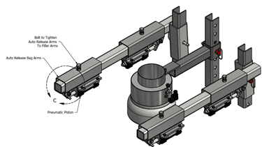 auto eject filling systems