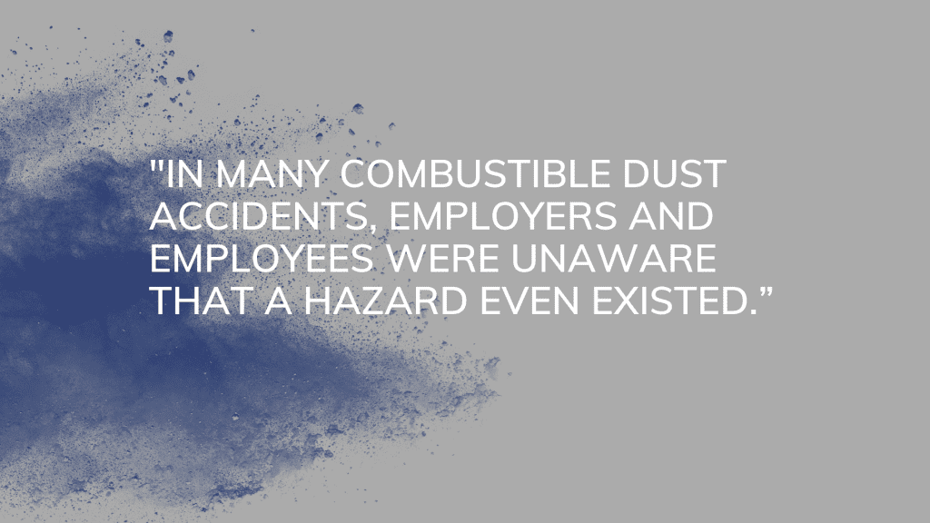 combustible dust accidents