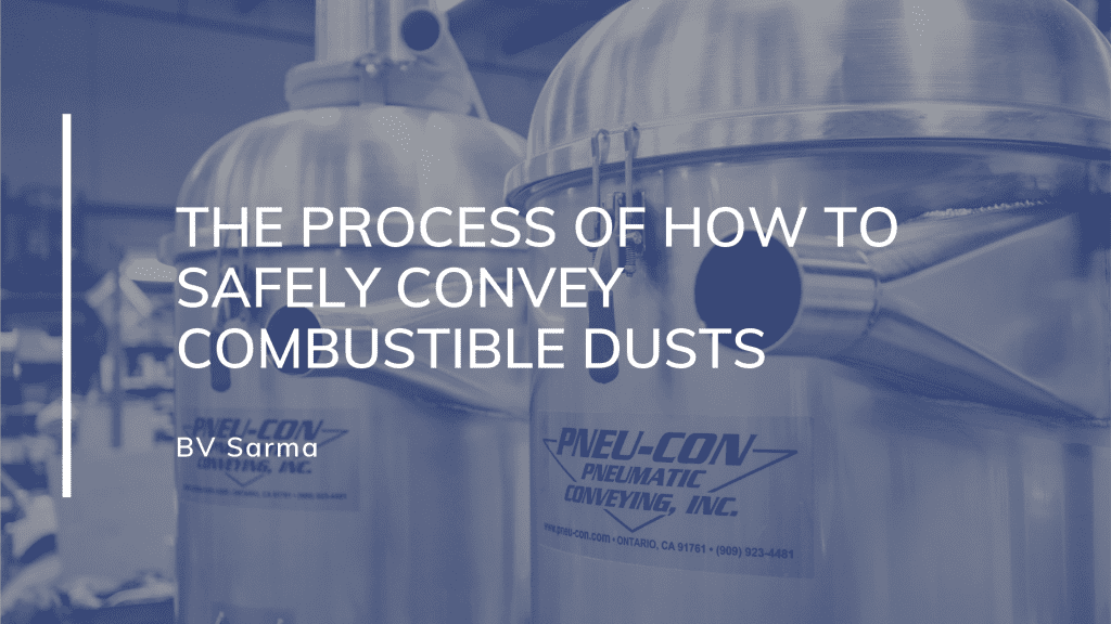 combustible dusts conveying
